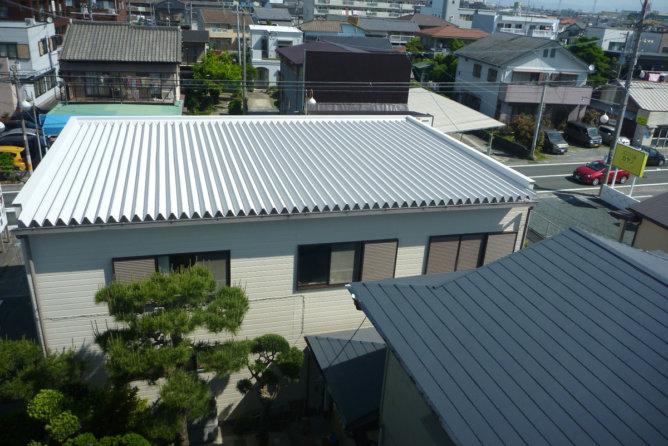 屋根塗装工事(浜松市)