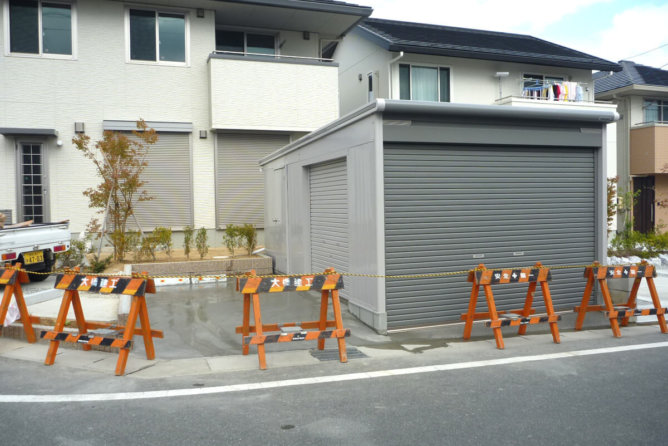車庫設置工事(浜松市)