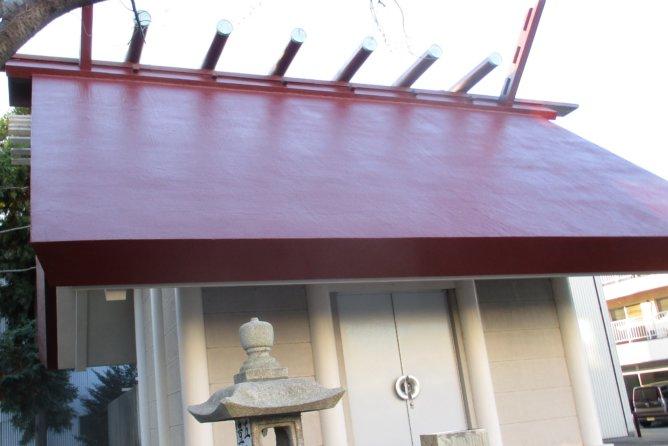 屋根 防水塗装工事(浜松)