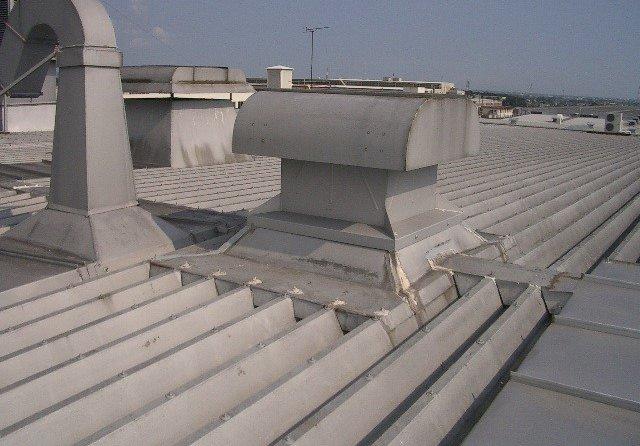 工場屋根 雨漏り修理(浜松市)