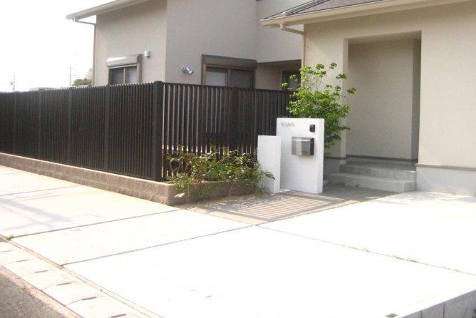 駐車場・アプローチ(浜松市)
