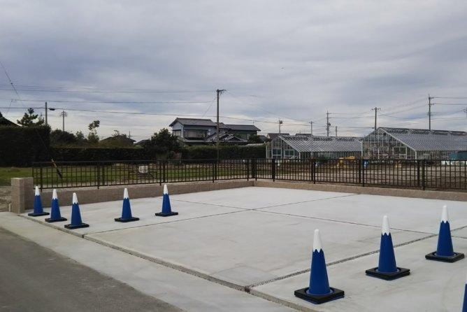 駐車場 新設工事