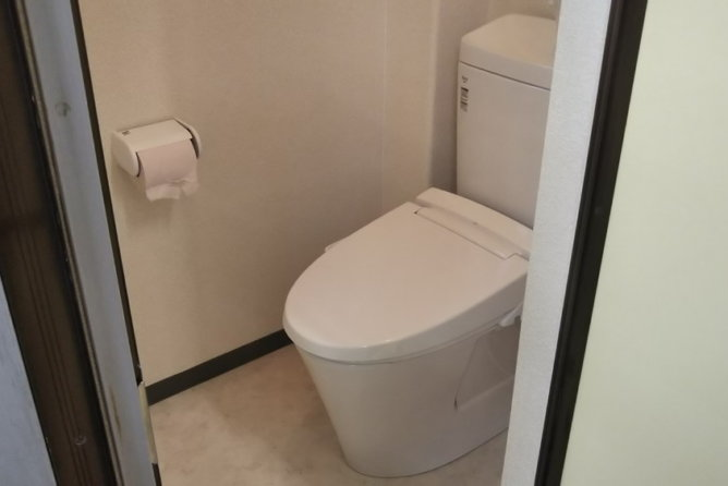 事務所トイレ 改修工事