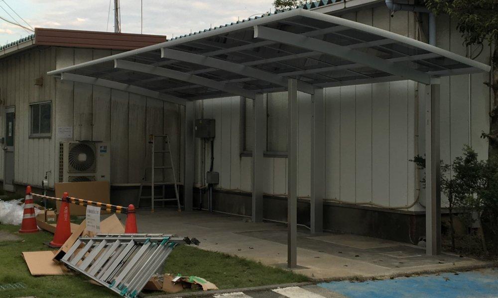 駐輪場建て替え工事