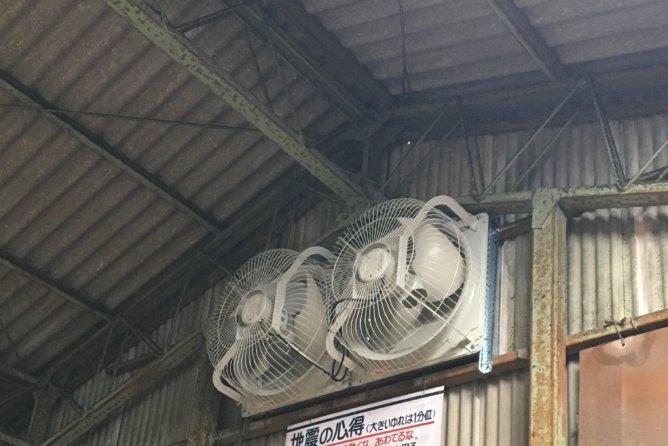 暑さ対策 換気設備設置工事